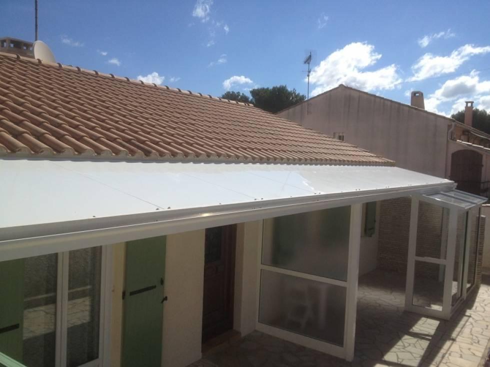 fabrication et pose de toiture pour abri et coupe vent ch teauneuf les martigues menuiserie. Black Bedroom Furniture Sets. Home Design Ideas