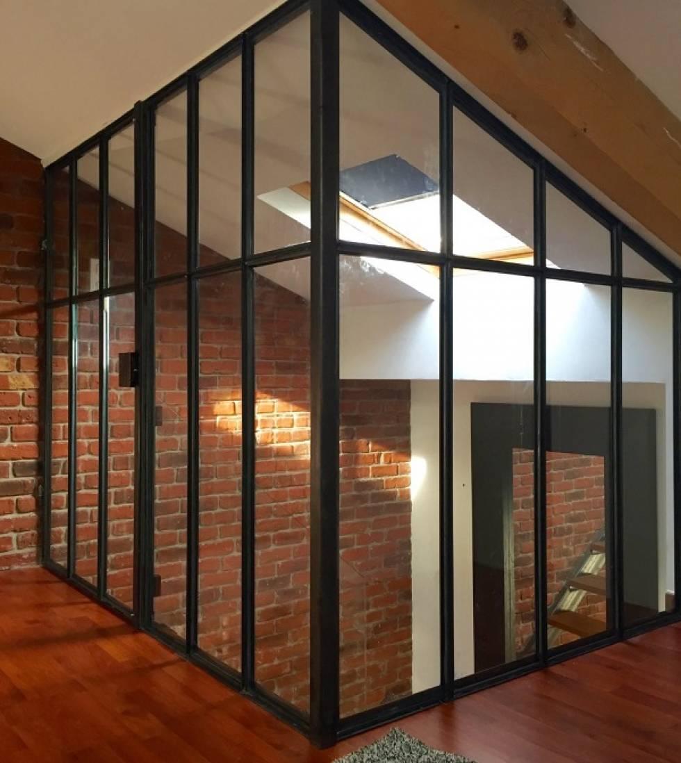 r alisation d 39 une verri re en fer martigues menuiserie. Black Bedroom Furniture Sets. Home Design Ideas