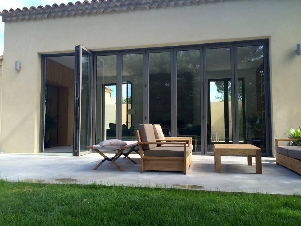 r alisation de chassis aluminium accord on repliable aix. Black Bedroom Furniture Sets. Home Design Ideas